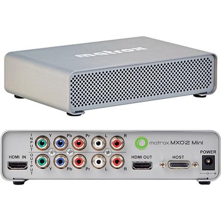 Matrox MXO2 MiniMax HDMI & Analog I/O Plus H.264 for Mac & PC Desktops