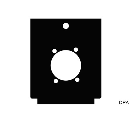 Mystery DPA TC Series Panel - 1 Each Neutrik D or 1 Each SwitchCraft D3F