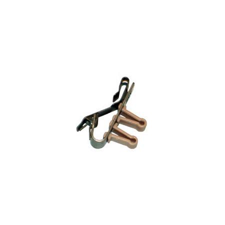 Sennheiser Black Dual Post Tie Clip