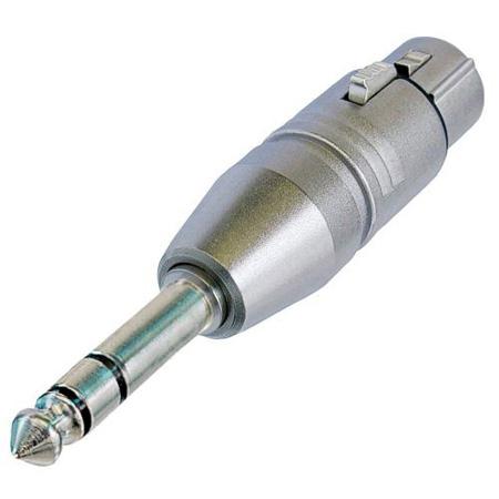 Neutrik NA3FP 3 Pin XLR Female to TRS 1/4 Inch Plug