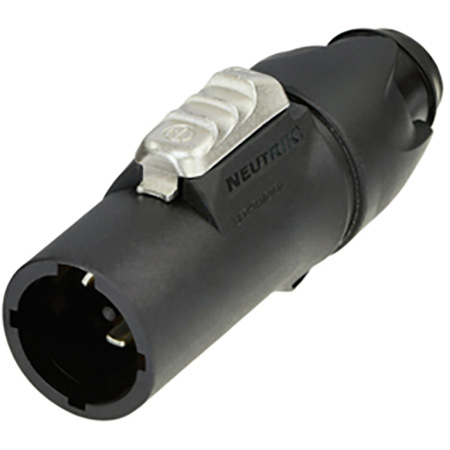 Neutrik NAC3MX-W-TOP 20 amp Cable End Connector powerCON TRUE1 True Outdoor Protection (TOP) - Male - Power in