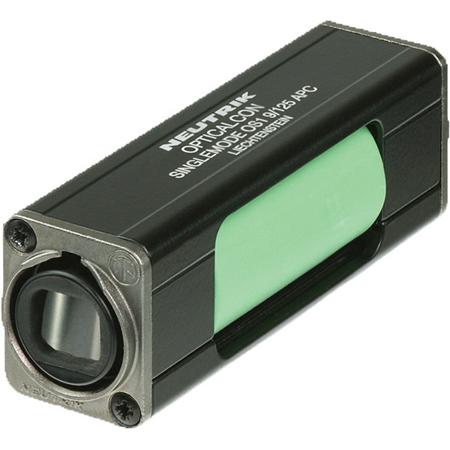 Neutrik NAO4SAW-A opticalCON QUAD APC LC Singlemode Coupler - IP65 - Green