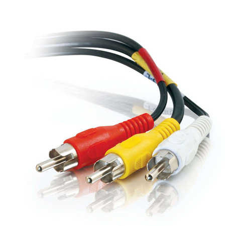 Composite Video & Stereo Audio Cable - 3 Foot