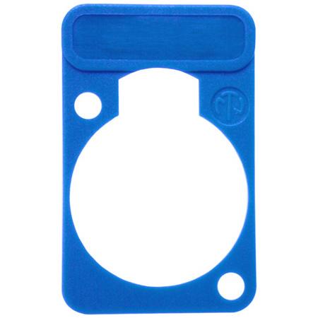Neutrik DSS-BLUE D-Series XLR Lettering and ID Plate Blue