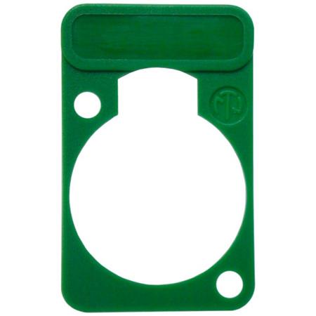 Neutrik DSS-Green D-Series XLR Lettering and ID Plate Green