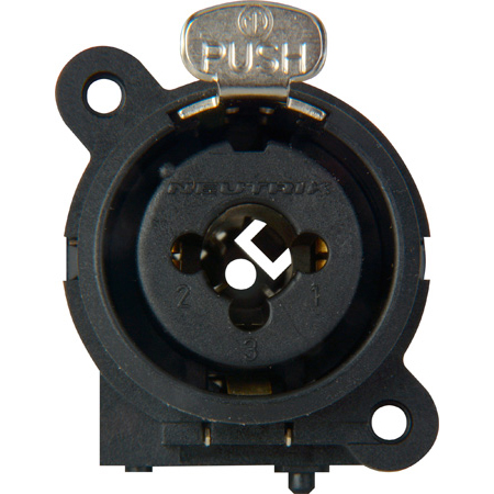 Neutrik NCJ6FI-S Combo 3-Pin XLRF / 1/4 Inch Stereo with Solder Cups (mounting hardware not included)