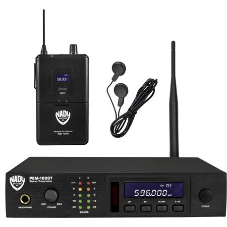 Nady PEM-1000 Wireless In-Ear Monitor System