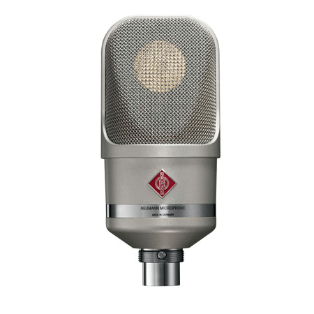 Neumann TLM 107 Multi-Pattern Large Diaphragm Condenser Vocal & Broadcast Microphone (Nickel)