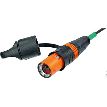 Neutrik NKO12SA-L-0-1 opticalCON Lite MTP-MTK Singlemode 12 Channel Fiber