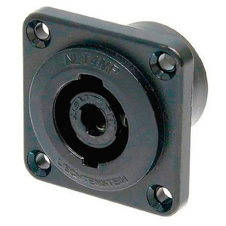Neutrik NLT4MP-BAG 4 speakON Pole Chassis Mount Connector