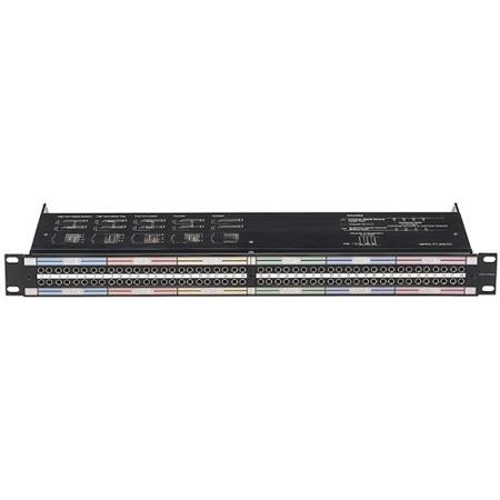 Neutrik NPPA-TT-PT 2X48 Bantam TT Patch Bay Half-Normalled - Push Terminals