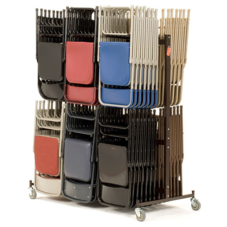 National Public Seating 84 Portable Chair Rack