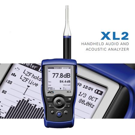 NTI XL2 Analyzer and M2211 Microphone
