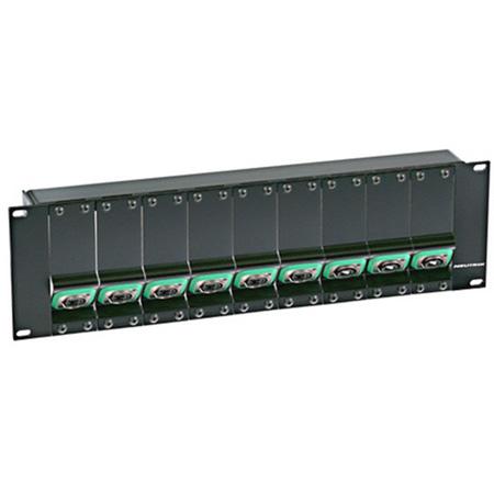 Neutrik NZPF3RU 3RU opticalCON Panel Frame