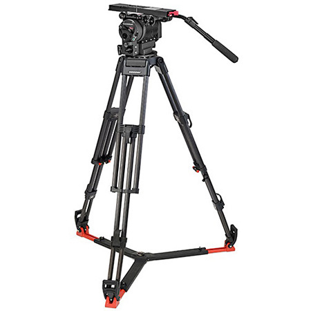 OConnor C2560-60LM-F 2560 Head & 60L Mitchell Tripod with Floor Spreader