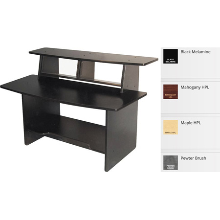 OmniRax Presto AV Desk - Maple