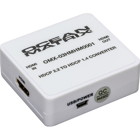 Ocean Matrix OMX-03HMHM0001 Converter Mini - HDMI HDCP 2.2 to HDCP 1.4