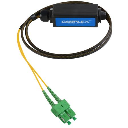 Camplex OPADAP-10 opticalCON DUO APC  to Two (2) SC/APC Breakout Adapter - Single Mode