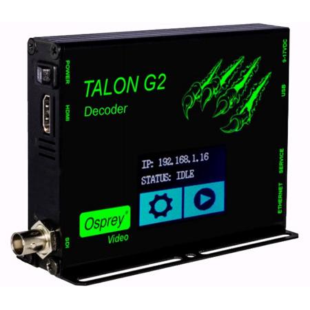 Osprey Talon-G2-Decoder H.264 Video Decoder
