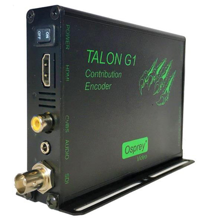 Osprey Talon G1 2 Channel H.264 Video Streaming Contribution Encoder