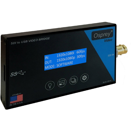Osprey Video VB-US SDI to USB 3.0 Video Capture Device