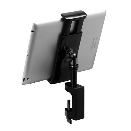 On Stage Stands TCM1908 Grip-On Universal Device Holder with u-mount Bullnose Clamp