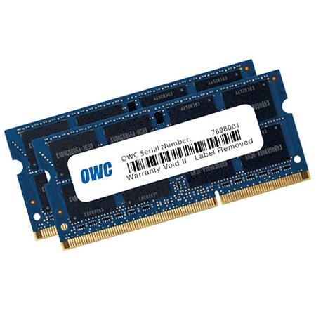 OWC 1600DDR3S16P 16.0GB - 2 x 8GB - PC3-12800 DDR3L 1600MHz SO-DIMM 204 Pin CL11 Memory Upgrade Kit