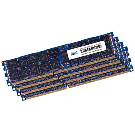 OWC 1866D3R9M64 64.0GB 4 x 16.0GB PC3-14900 DDR3 Mac Pro Late 2013 RAM Memory Matched Set - 4 x 16GB