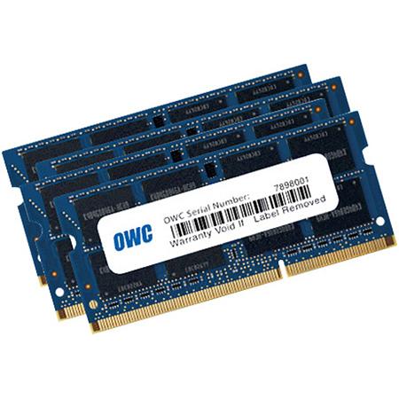 OWC 1867DDR3S32S 32.0GB 1867MHz DDR3 SO-DIMM PC3-14900 SO-DIMM 204 Pin CL11 RAM Memory Upgrade Kit