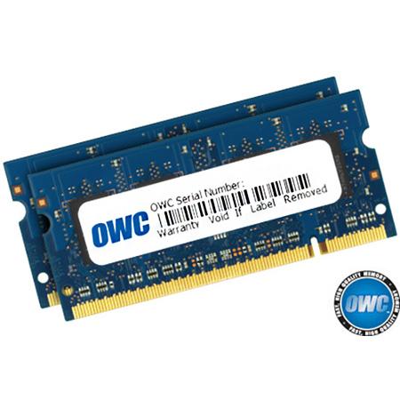 OWC OWC6400DDR2S6GP 6.0GB Kit (2.0GB plus 4.0GB) PC2-6400 DDR2 800MHz SO-DIMM 200 Pin RAM Memory Upgrade Kit