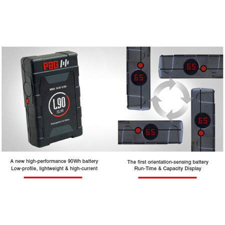 PAG L90 Slim Li-Ion Battery V-Mount 90Wh