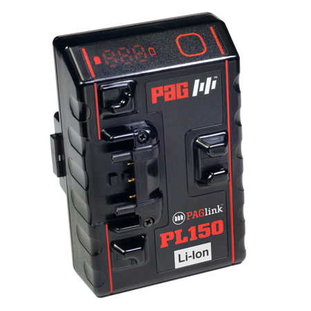 PAG PAGlink HC-PL150T 150Wh Time Battery Rechargeable Gold Mount Li-Ion