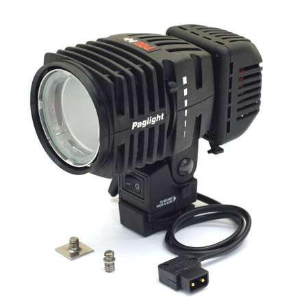 PAG 9965LD Paglight Camera Light with LED and Dimmer - D-Tap Power Base - 20 Inch Lead