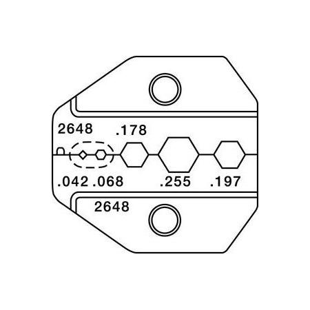 Paladin 2648 HDTV SMA (True 75ohm) BNC/TNC Mini-UHF - RG174/59/62 Die