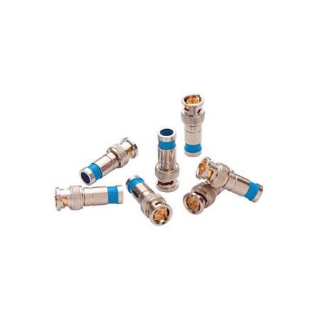 Paladin 9730 RG59 Compression BNC Connectors - 10 Pack