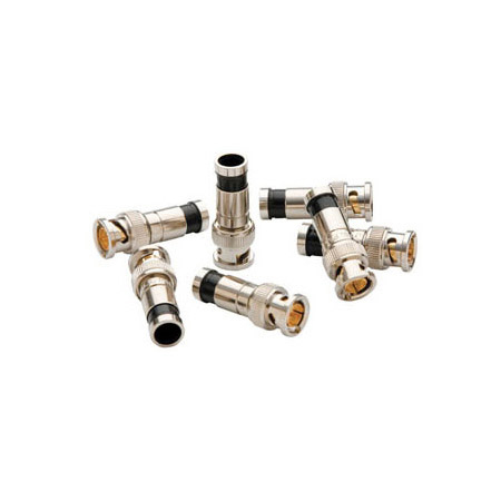 Greenlee PA9740 SealTite BNC Compression Connectors for RG6 & RG6 Quad Coax - 50 Pack Jar