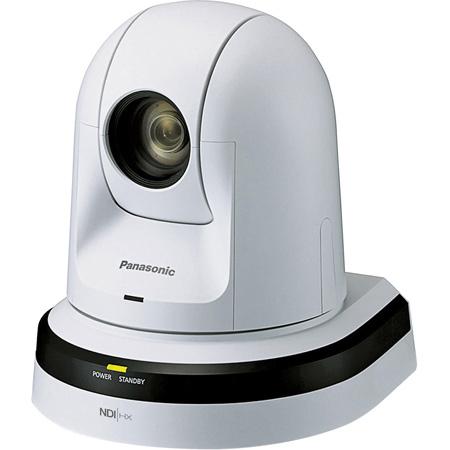 Panasonic AW-HN38HWPJ HD Professional PTZ Camera with HDMI Output and NDI - White