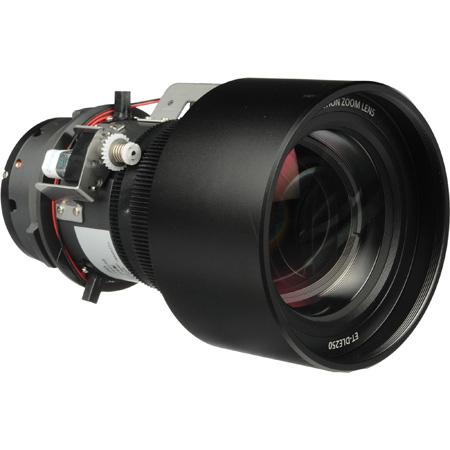Panasonic ETDLE250 Power Zoom Lens for PT-D6000 Series/PT-D5700/PT-DW5100/PT-D4000