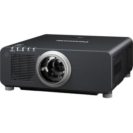 Panasonic PT-DZ870ULK 1-Chip 8500 Lumens DLP Projector without Lens - Black