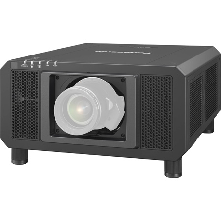 Panasonic PT-RQ13KU 10000 Lumens Video Projector - 3DLP Laser with 4K (5120 x 3200) Resolution - Lens Not Included