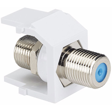 Panduit NKFWH F-Type Keystone Module Feedthru RF Connector