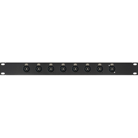 My Custom Shop PB8-XLQ 8-Channel XLR/1/4 Inch Patch Bay