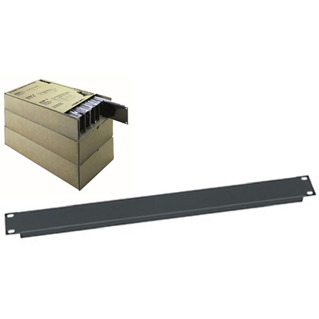 Middle Atlantic PBL1-CP12 12 Pack of PBL-1 Panels in Plain Poly Bags