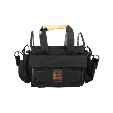 Portabrace AO-MX124 Audio Organizer Rolls MX124 - Black