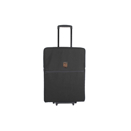 Portabrace MOW-C1 Transport Case for Large Flat Screen Monitors with Wheels - Black