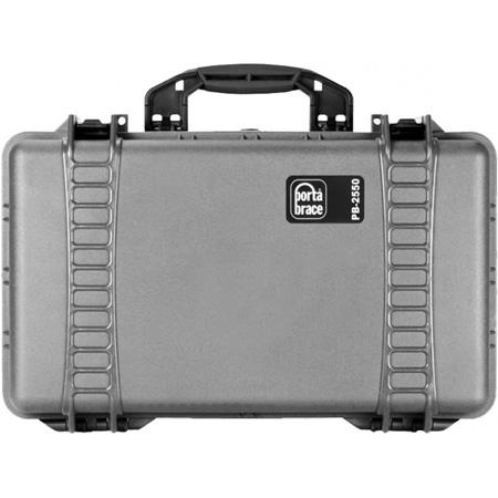 Portabrace PB-2550DSLRP Wheeled DLSR Case Silver/Platinum