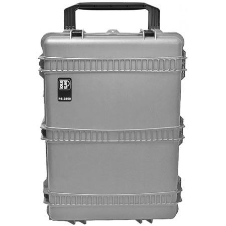 Portabrace PB-2850FP XL Trunk-Style Hard Resin Carrying Case with Wheels and Foam Interior