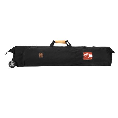 Portabrace TLQB-46XTOR Tripod/Light Carrying Case with Off Road Wheels - Black - 46 in.
