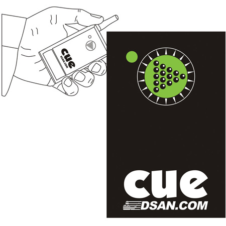 DSan PC-AS-1 Pocket Size 1-Button Actuator for Perfect Cue System Forward Only