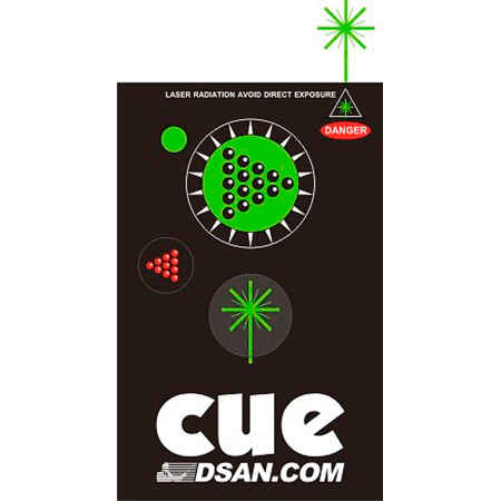 DSan PC-AS3-GRN Transmitter 3-Button (Forward Back & Green Laser) for Perfect Cue System